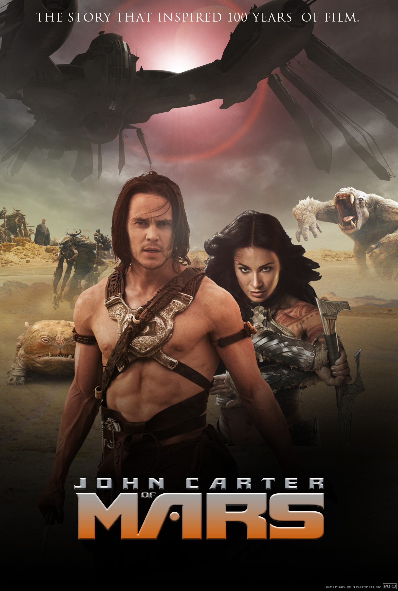 John Carter Trailer : Film Kino Trailer
