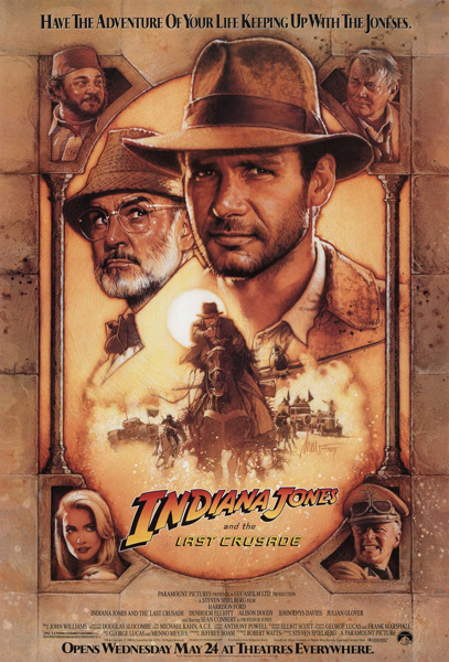 Indiana Jones and the Last Crusade - Poster