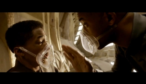 After Earth - Father and Son Breathing Exercise
