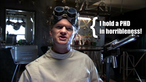 Dr Horrible Sing Along Blog - Neil Patrick Harris as Dr Horrible