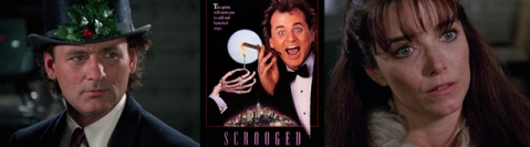 Scrooged - Banner