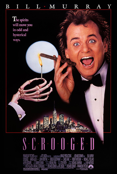 Scrooged - Poster