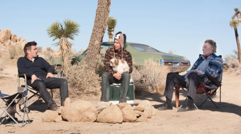 Seven Psychopaths - Marty, Hans and Billy with the Shih Tzu 2