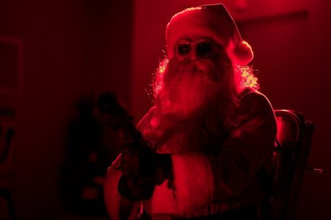 Silent Night - Bad Santa with Flame Thrower