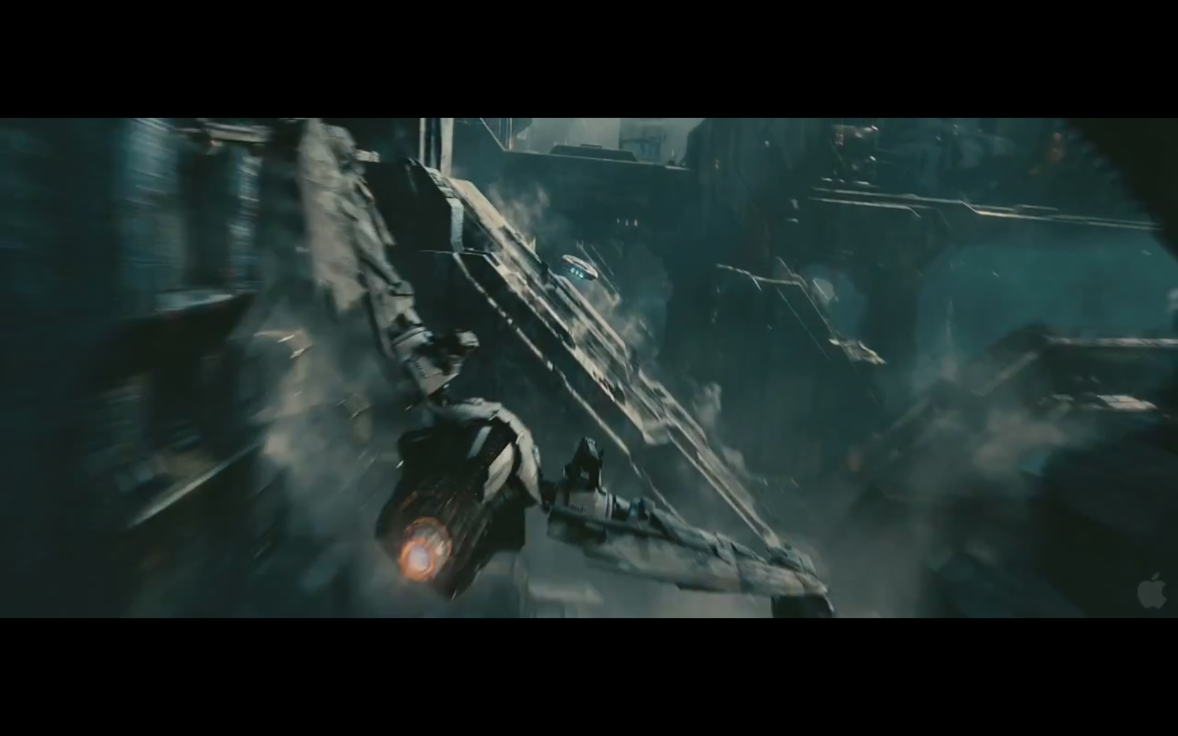 Star Trek Into Darkness – Either a Drone or Klingon Ship ... Klingons Into Darkness