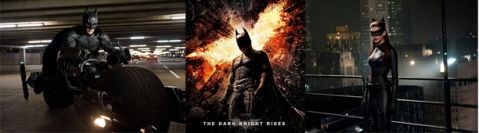 The Dark Knight Rises - Banner