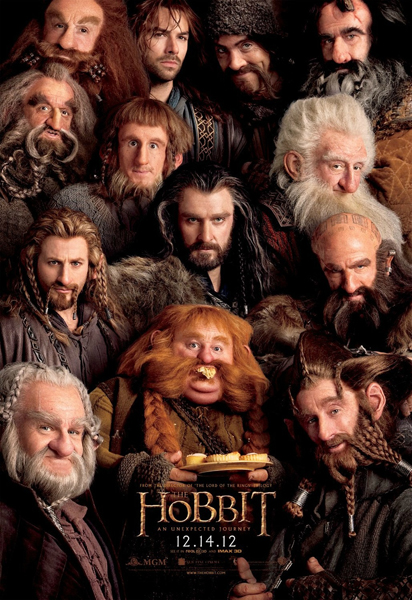 The Hobbit - Dwarf Poster