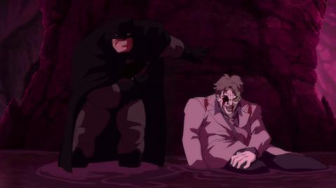 Batman The Dark Knight Returns - The Joker and Batman
