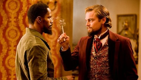 Django Unchained - Foxx and DiCaprio