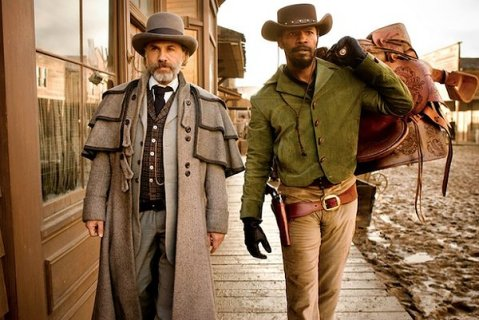 Django Unchained - Foxx and Waltz