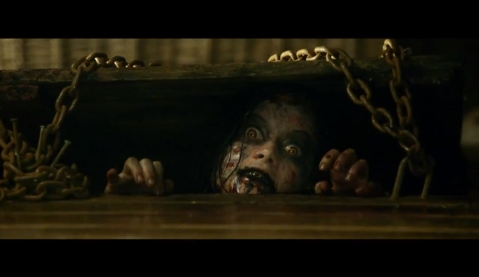 Evil Dead - Damn Creepy Scene
