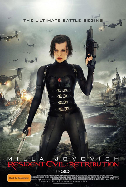 Resident Evil Retribution - Poster