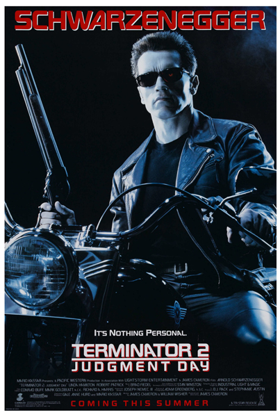 Terminator 2 Judgment Day (1991) - Poster