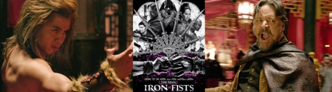 The Man with the Iron Fists - Banner