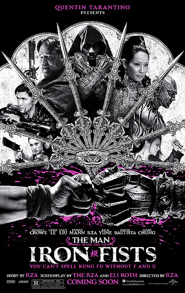 The Man with the Iron Fists - Poster