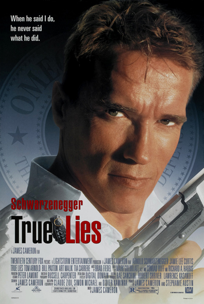 True Lies (1994) - Poster