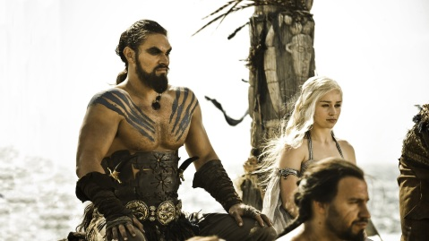 Game of Thrones - Drogo and Daenerys