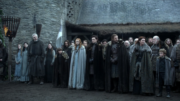 Game of Thrones - Starks In Winterfell