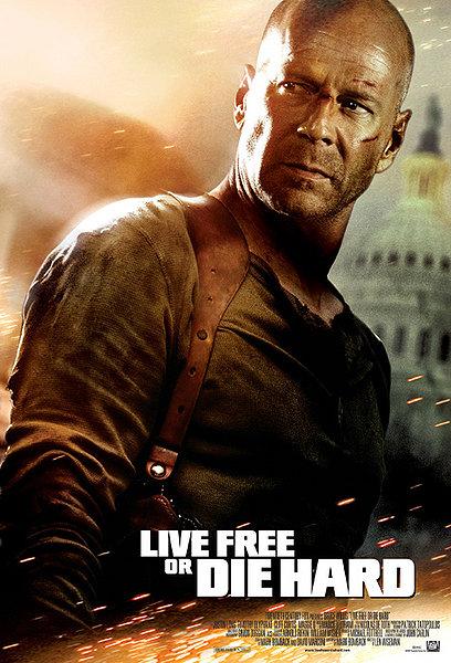 Live Free or Die Hard - Poster