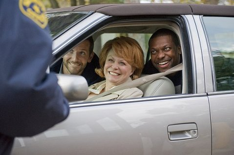 Silver Linings Playbook - Pat and Chris Tucker being stopped by police