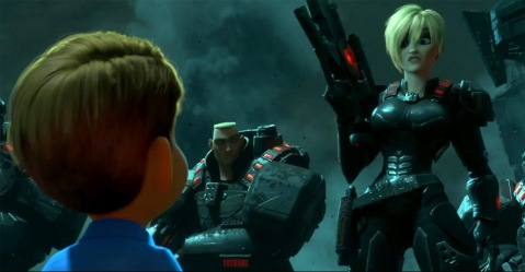 Wreck-It Ralph - Sergeant Calhoun In Hero's Duty