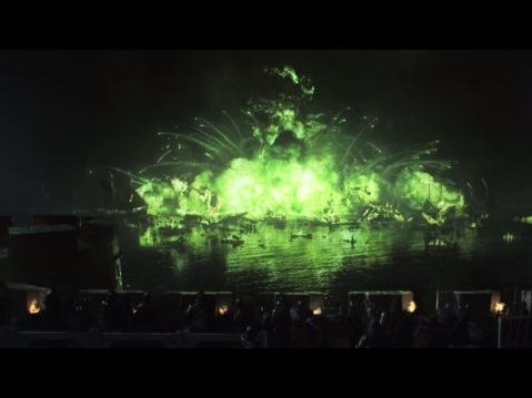 Game of Thrones Season 2 - Wild fire attack