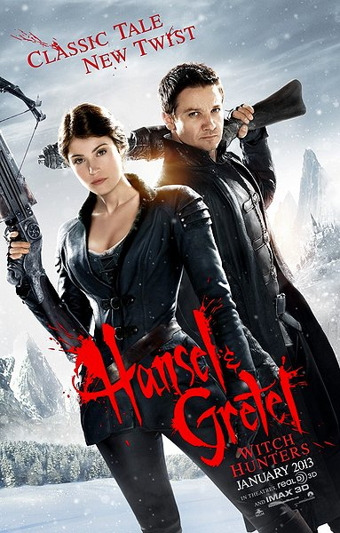 Hansel and Gretel Witch Hunters - Poster