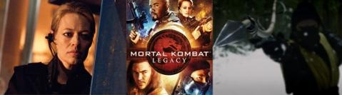 Mortal Kombat Lagacy Season 1 - Banner