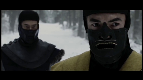 Mortal Kombat Lagacy Season 1 - Scorpion and Sub Zero