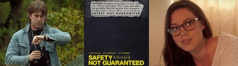 Safety Not Guaranteed - Banner