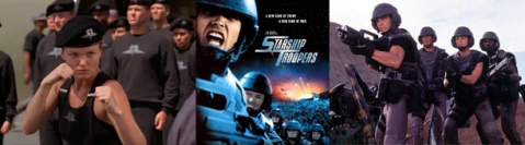 Starship Troopers - Banner