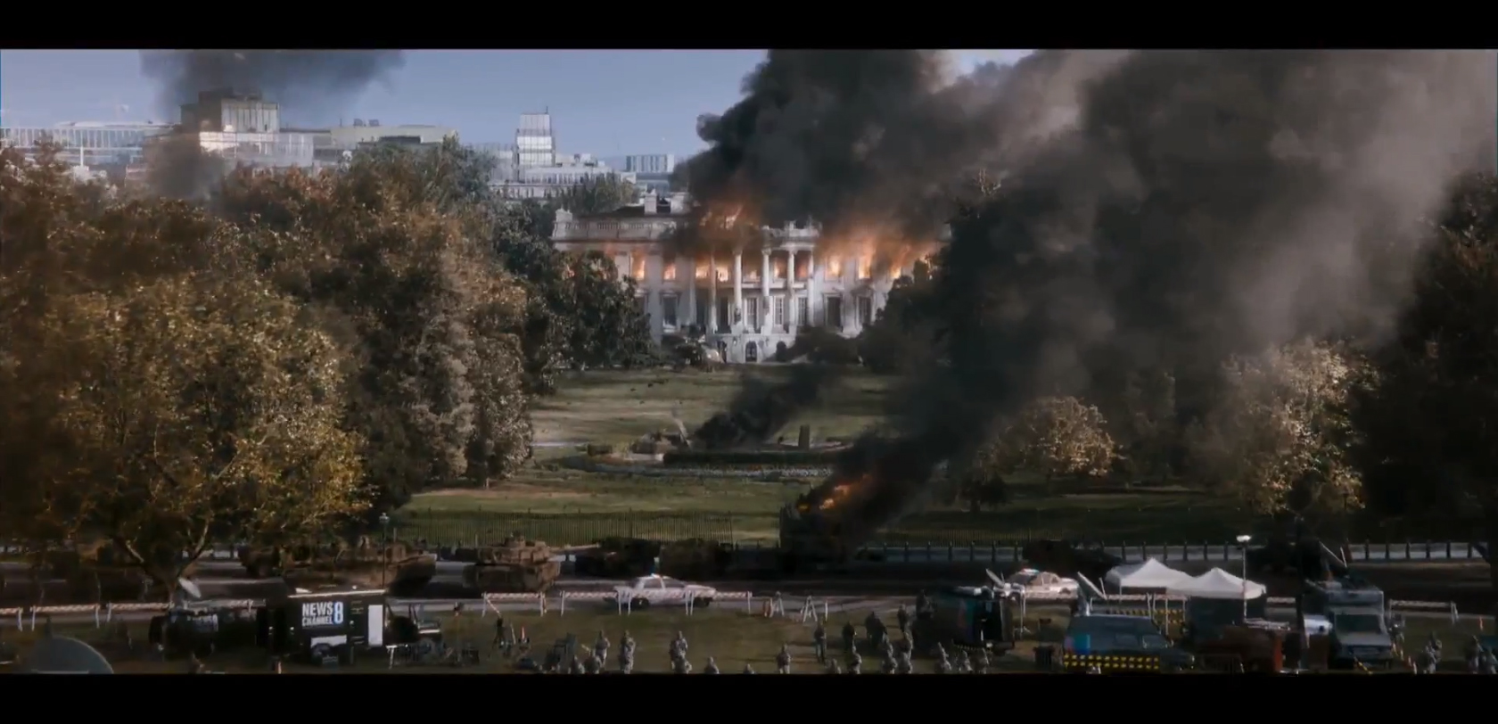 white house down trailer 1 review tim 39 s film reviews. Black Bedroom Furniture Sets. Home Design Ideas
