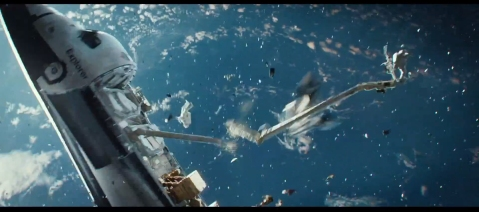 Gravity-Damn-Space-Debris