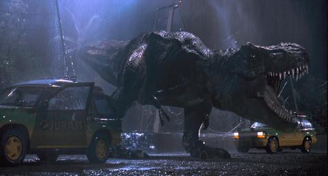 Jurassic-Park-T-Rex-Escape