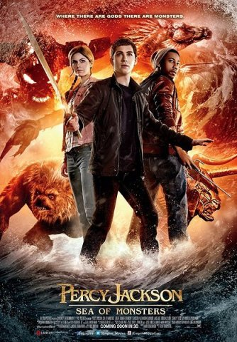 Percy Jackson Sea of Monsters-Poster