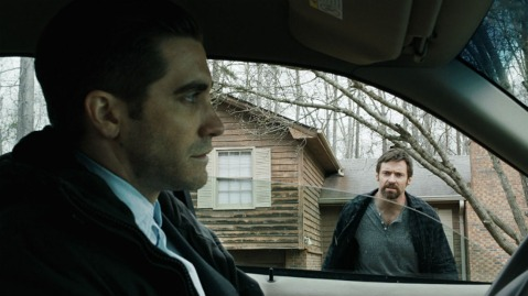 Prisoners-2013-Movie-Jake Gyllenhaal-and-Hugh Jackman