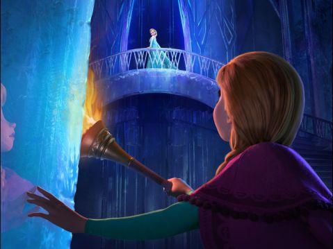 Frozen-elsa's-palace