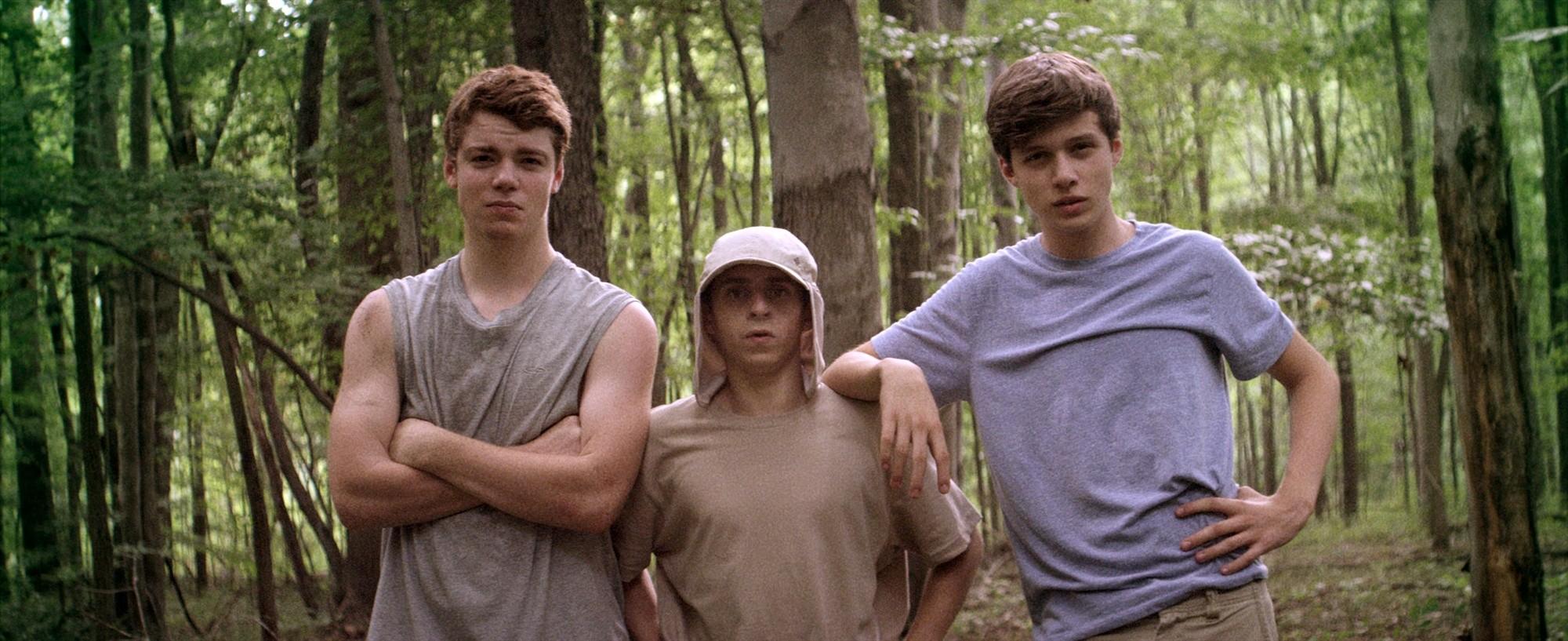 The Kings Of Summer Three Guys Nick Robinson Moises Arias