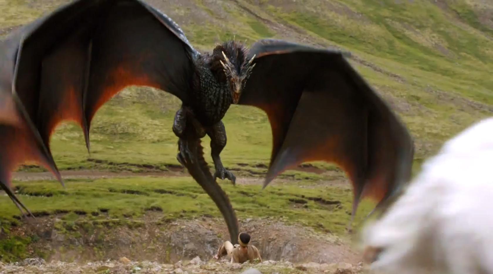 Драконы из игры престолов картинки