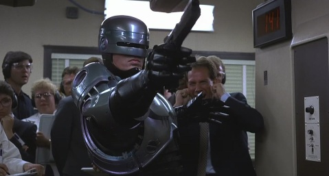 Robocop - Robocop at shooting range