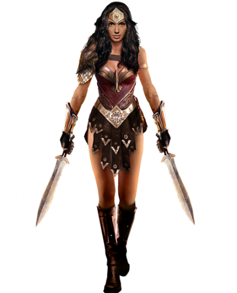 Gal Gadot as Wonder Woman-Concept art