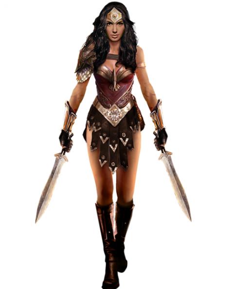 Gal Gadot as Wonder Woman-Concept art