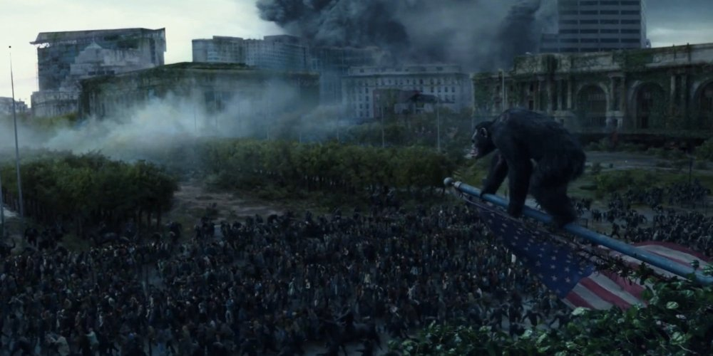 Dawn of the Planet of the Apes (2014) Review (5/6)