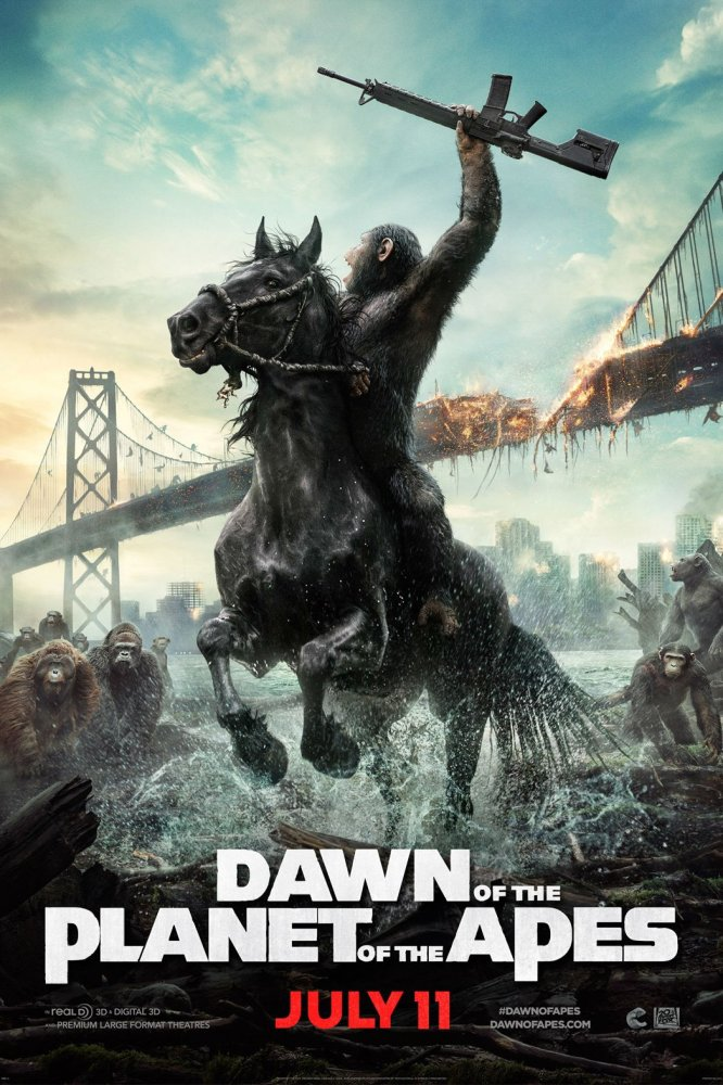 Dawn of the Planet of the Apes (2014) Review (2/6)