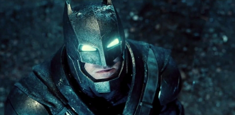 Batman V Superman Batman armoured suit