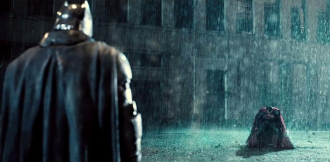 Batman V Superman Let the fight begin