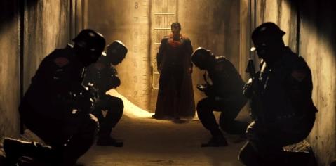 Batman V Superman Superman militia